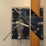 """Uhrmacher Wien - Ansicht der Pendeluhr """"BLUE LADY"""""""